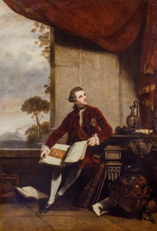 Sir William Hamilton, by Sir Joshua Reynolds, 1777 -NPG 680 - © National Portrait Gallery, London