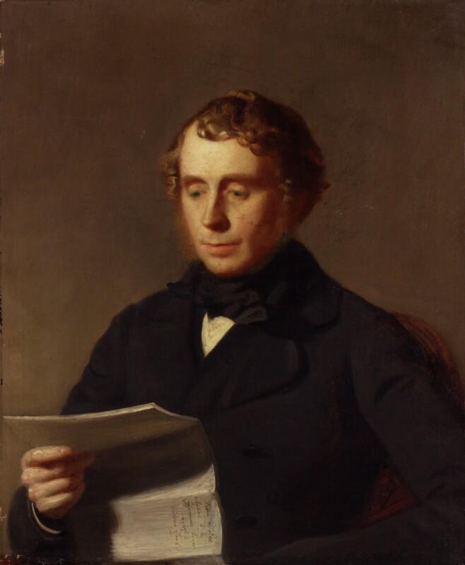 William Alexander Baillie Hamilton, by Stephen Pearce, 1850 - NPG 908 - © National Portrait Gallery, London