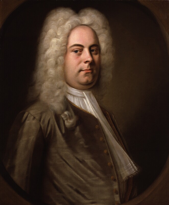 George Frideric Handel, by Balthasar Denner, 1726-1728 -NPG 1976 -