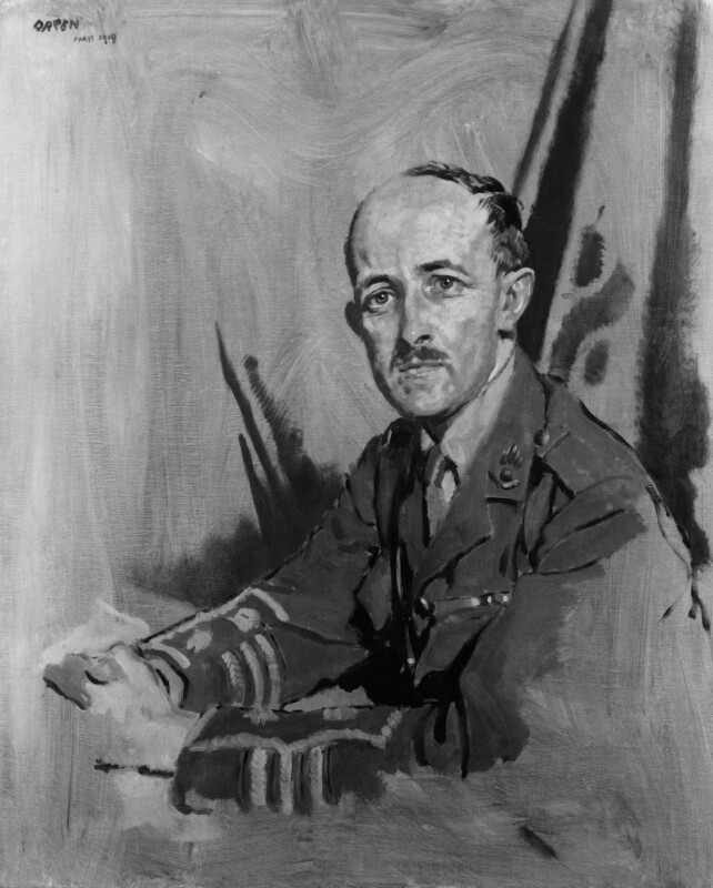 Maurice Pascal Alers Hankey, 1st Baron Hankey, by Sir William Orpen, 1919 - NPG 4650 - © National Portrait Gallery, London