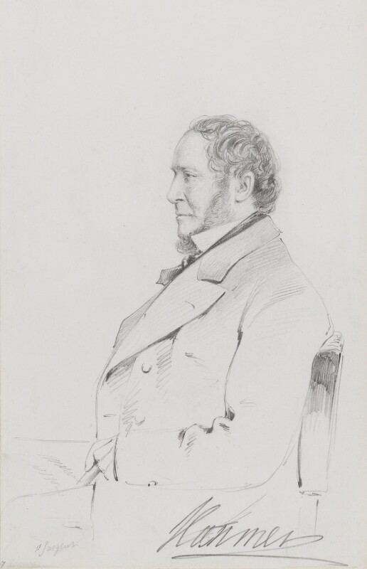 John Hanmer, 1st Baron Hanmer, by Frederick Sargent, 1870s - NPG 1834(n) - © National Portrait Gallery, London
