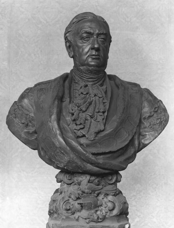Sir William Vernon Harcourt, by Waldo Story, 1899 - NPG 1461 - © National Portrait Gallery, London