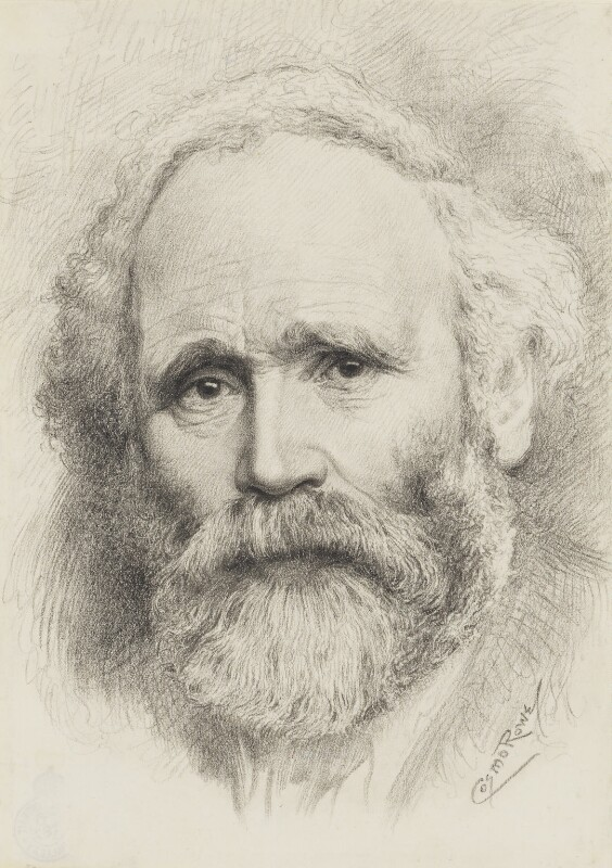 Keir Hardie, by William John Monkhouse ('Cosmo') Rowe, after a photograph by  George Charles Beresford, 1905-1932, based on a work of 1905 - NPG 2542 - © National Portrait Gallery, London