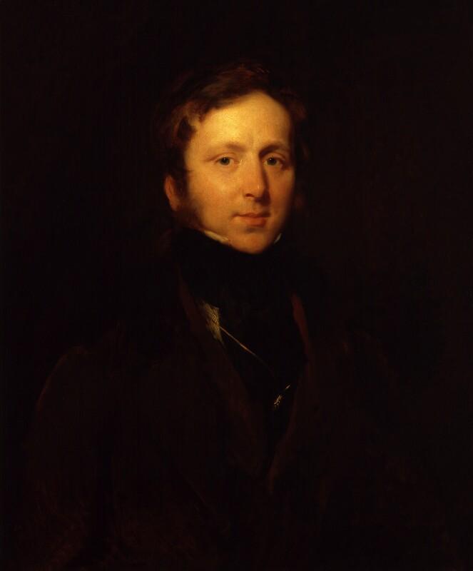 James Duffield Harding, by Henry Perronet Briggs, circa 1840 - NPG 1781 - © National Portrait Gallery, London