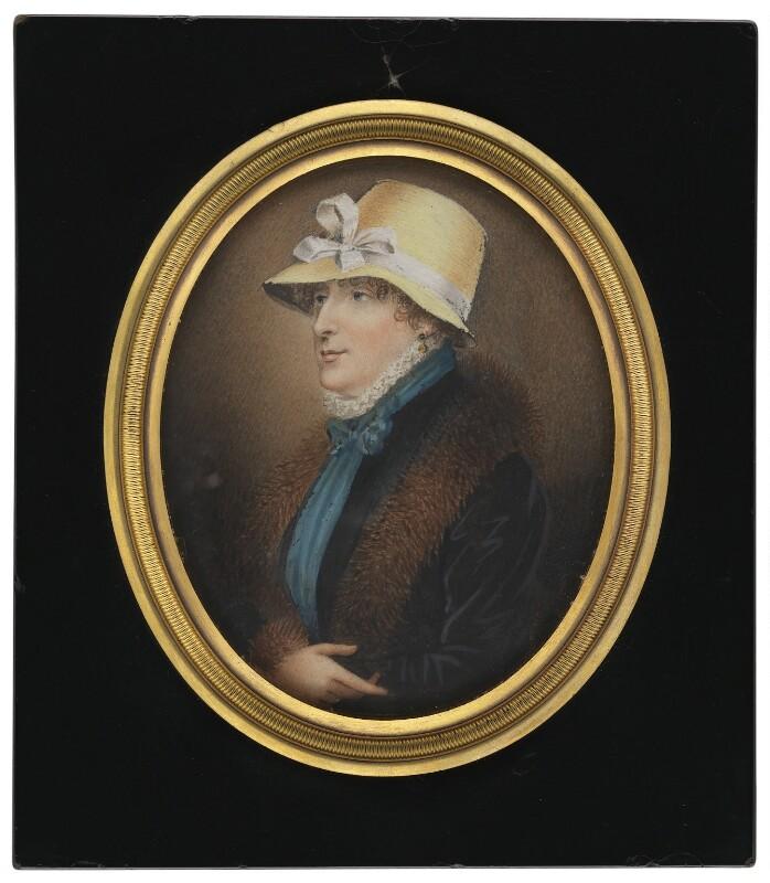 Mary Ann Harding, by Silvester (Sylvester) Harding, 1803 -NPG 4615a - © National Portrait Gallery, London