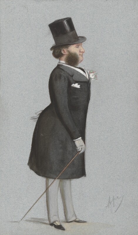 Charles Philip Yorke, 5th Earl of Hardwicke, by Carlo Pellegrini, published in Vanity Fair 9 May 1873 - NPG 4717 - © National Portrait Gallery, London