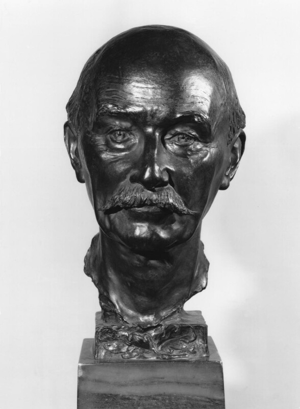 Thomas Hardy, by Sir (William) Hamo Thornycroft, 1917 - NPG 2156 - © National Portrait Gallery, London
