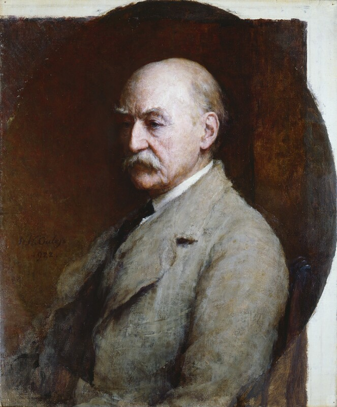 Thomas Hardy, by Walter William Ouless, 1922 - NPG 2181 - © National Portrait Gallery, London