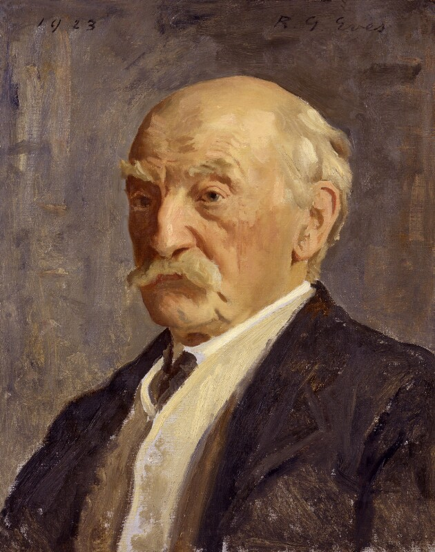 Thomas Hardy, by Reginald Grenville Eves, 1923 - NPG 2498 - © National Portrait Gallery, London