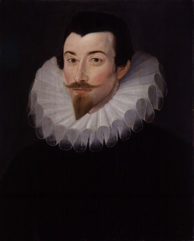 Sir John Harington, by Unknown artist, circa 1590-1595 - NPG 3121 - © National Portrait Gallery, London