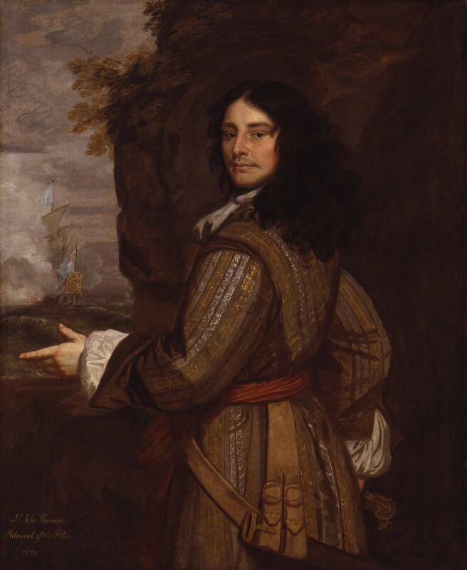 Sir John Harman, studio of Sir Peter Lely, based on a work of circa 1666 - NPG 1419 - © National Portrait Gallery, London