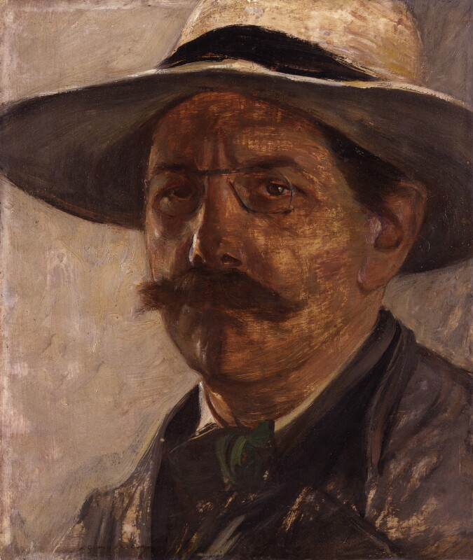 Archibald Standish Hartrick, by Archibald Standish Hartrick, exhibited 1913 - NPG 4193 - © reserved; collection National Portrait Gallery, London