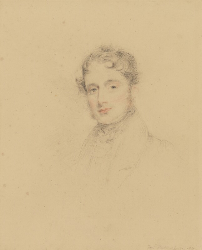 Jacob Astley, 16th Baron Hastings, by Joseph Slater, 1830 - NPG 3645 - © National Portrait Gallery, London