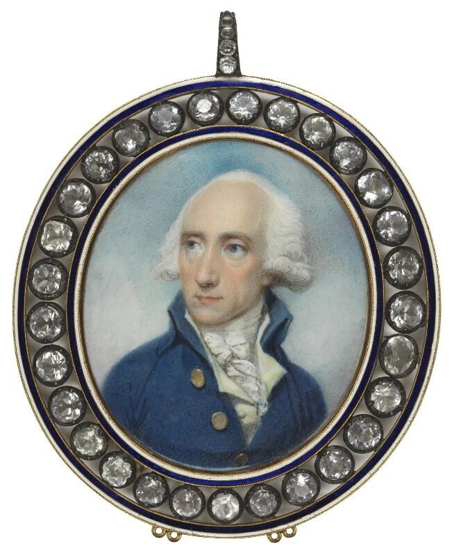 Warren Hastings, by Richard Cosway, 1787 - NPG 6286 - © National Portrait Gallery, London