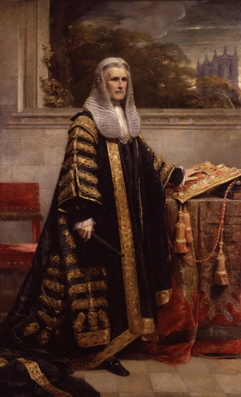 William Page Wood, Baron Hatherley, by George Richmond, 1872 - NPG 646 - © National Portrait Gallery, London