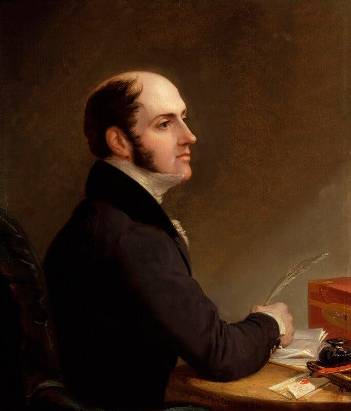 Edward John Littleton, 1st Baron Hatherton, by Sir George Hayter, 1834 - NPG 4658 - © National Portrait Gallery, London