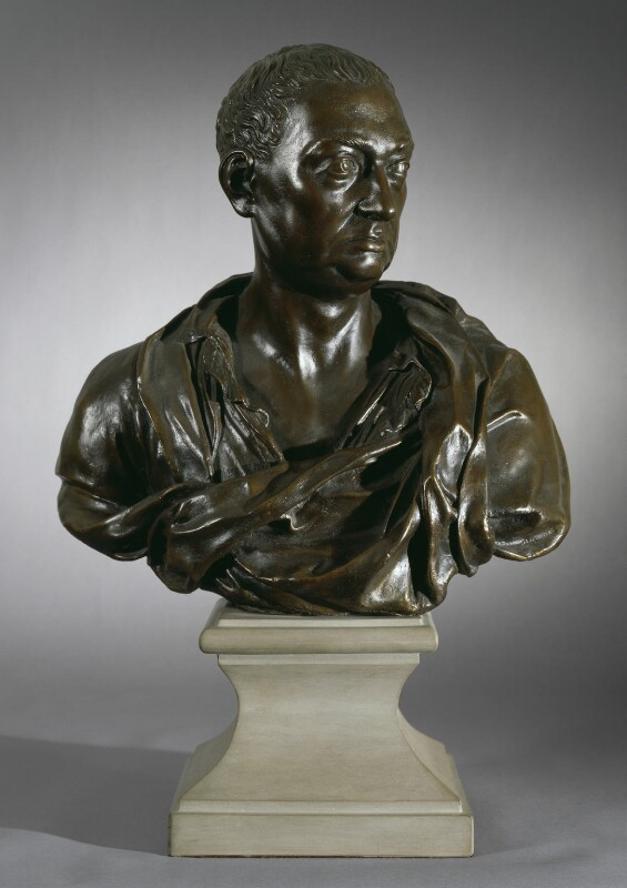 Nicholas Hawksmoor, after a bust attributed to Sir Henry Cheere, 1st Bt, 1962, based on a work of 1736 - NPG 4261 - © National Portrait Gallery, London