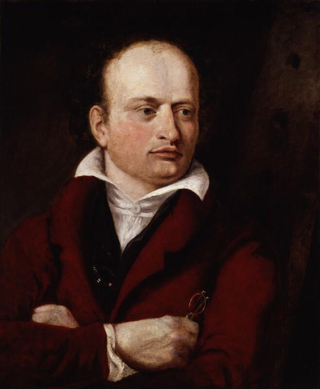 Benjamin Robert Haydon, by Georgiana Margaretta Zornlin, 1825 - NPG 510 - © National Portrait Gallery, London