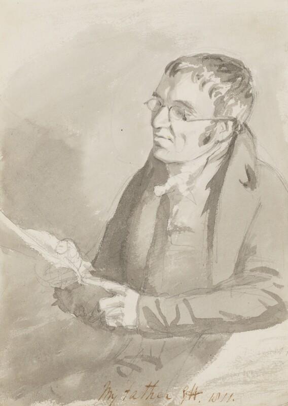 Charles Hayter, by Sir George Hayter, 1811 - NPG 2617 - © National Portrait Gallery, London