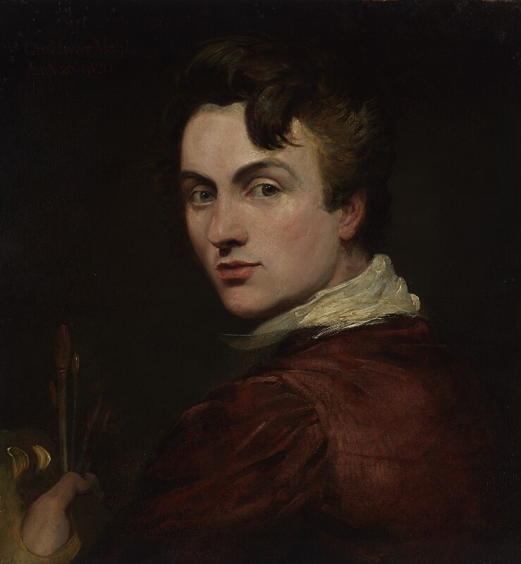 Sir George Hayter, by Sir George Hayter, 1820 - NPG 3104 - © National Portrait Gallery, London
