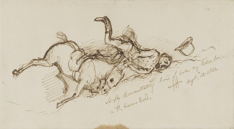Sir George Hayter, by Sir George Hayter, 1821 -NPG 3082(1) - © National Portrait Gallery, London