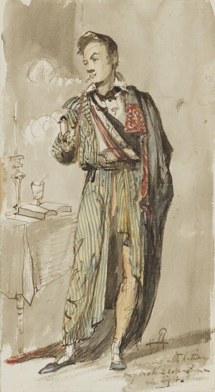 Sir George Hayter, by Sir George Hayter, 1821 -NPG 3082(5) - © National Portrait Gallery, London