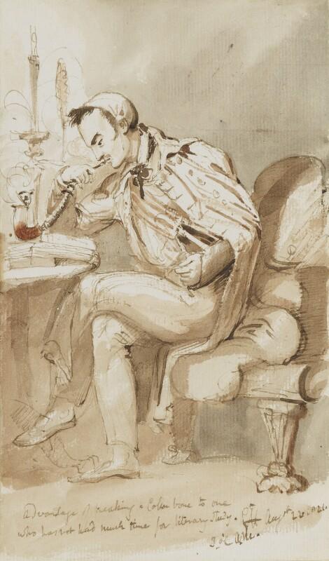 Sir George Hayter, by Sir George Hayter, 1821 - NPG 3082(7) - © National Portrait Gallery, London