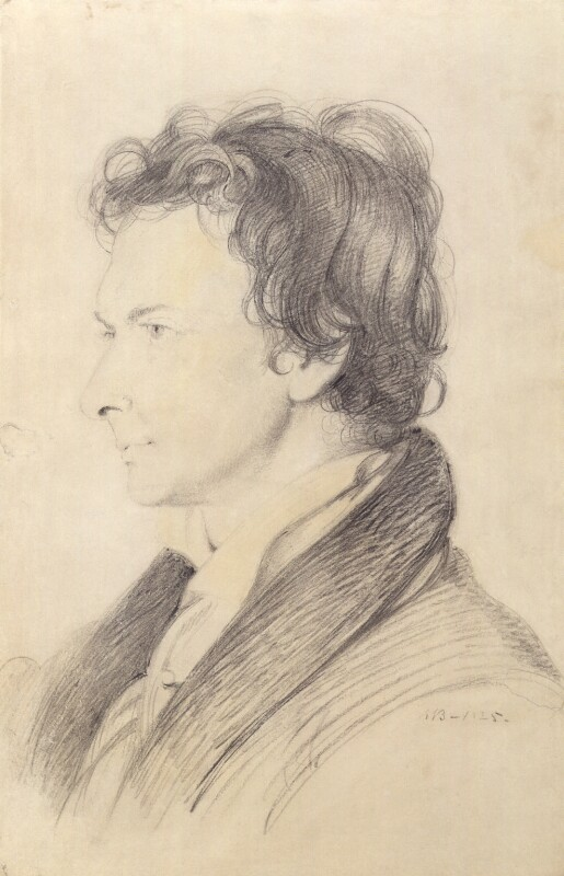 William Hazlitt, replica by William Bewick, 1825 - NPG 2697 - © National Portrait Gallery, London
