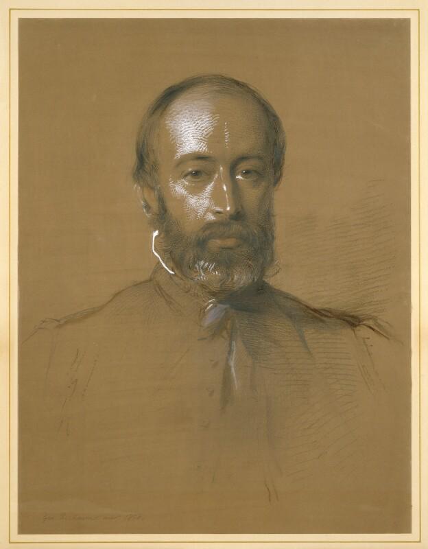 Sir Arthur Helps, by George Richmond, 1858 -NPG 2027 - © National Portrait Gallery, London