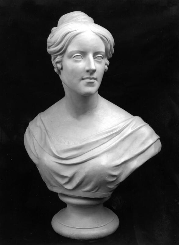 Felicia Dorothea Hemans, by Angus Fletcher, 1829 - NPG 1046 - © National Portrait Gallery, London