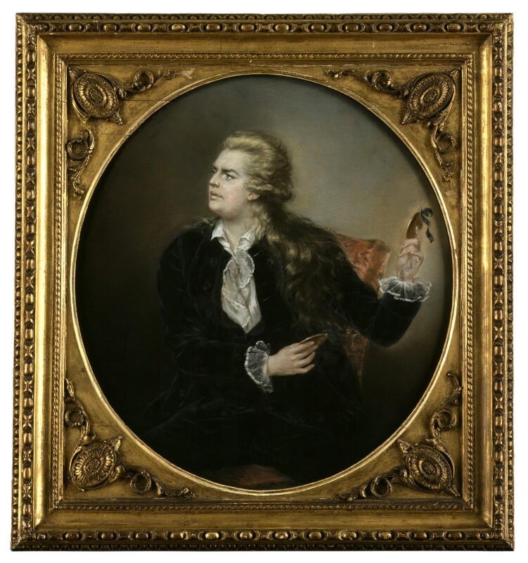 John Henderson as Hamlet, by Robert Dunkarton, 1776 -NPG 1919 - © National Portrait Gallery, London