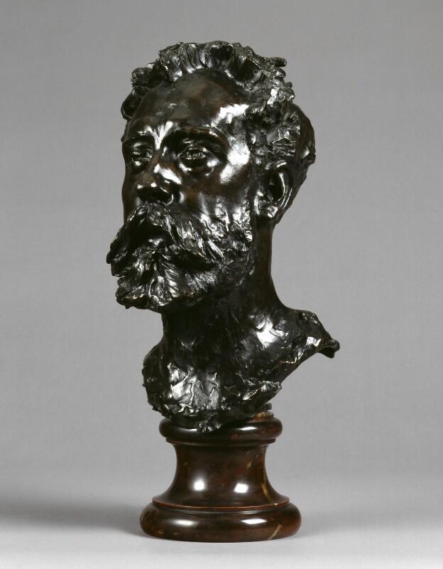 William Ernest Henley, by Auguste Rodin, 1884-1886 - NPG 1697 - © National Portrait Gallery, London