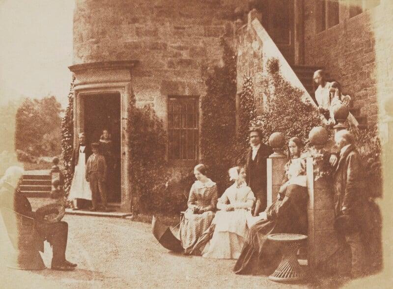 Henry Cockburn, Lord Cockburn, his family, David Octavius Hill and John Henning, by David Octavius Hill, and  Robert Adamson, 1843-1848 - NPG P6(238) - © National Portrait Gallery, London