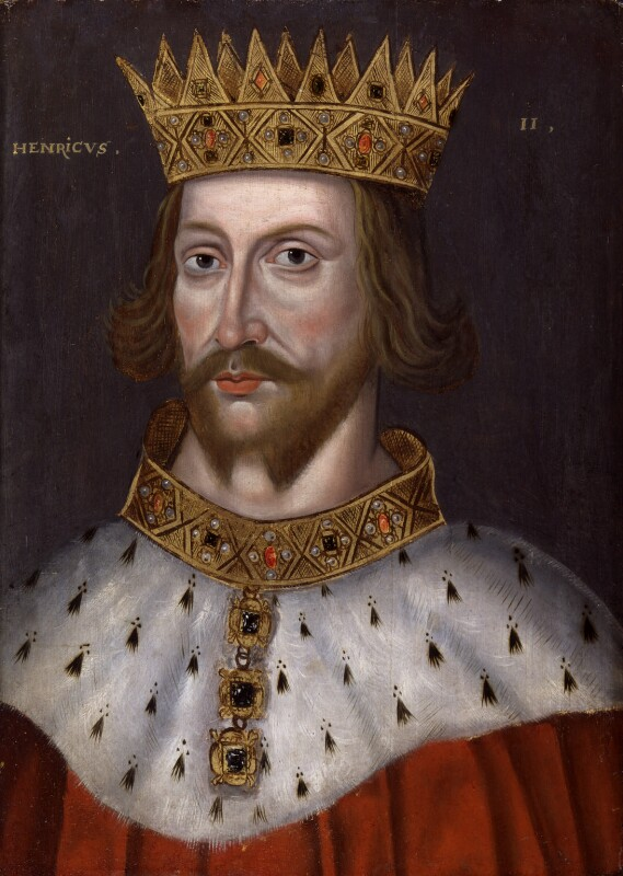 King Henry II, by Unknown artist, 1597-1618 - NPG 4980(4) - © National Portrait Gallery, London