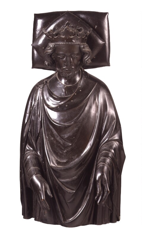 King Henry III, by Elkington & Co, cast by  Domenico Brucciani, after  William Torel, 1873, based on a work of circa 1291 - NPG 341 - © National Portrait Gallery, London