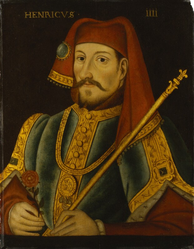 King Henry IV, by Unknown artist, late 16th or early 17th century - NPG 310 - © National Portrait Gallery, London