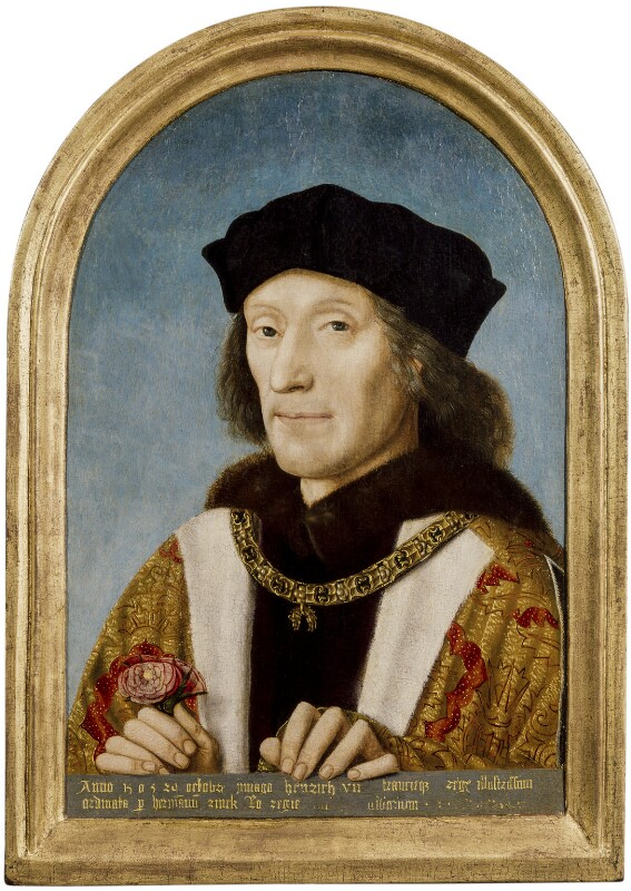 King Henry VII, by Unknown Netherlandish artist, 1505 - NPG 416 - © National Portrait Gallery, London