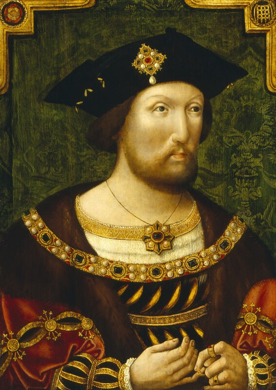 King Henry VIII, by Unknown Anglo-Netherlandish artist, circa 1520 - NPG 4690 - © National Portrait Gallery, London