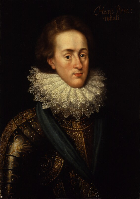Henry, Prince of Wales, after Isaac Oliver, circa 1610, based on a work of circa 1610 - NPG 407 - © National Portrait Gallery, London