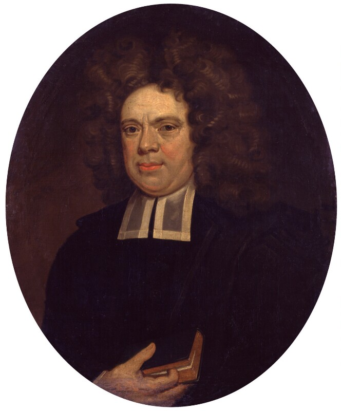 Unknown man, formerly known as Matthew Henry, by Unknown artist, circa 1710 - NPG 982i - © National Portrait Gallery, London