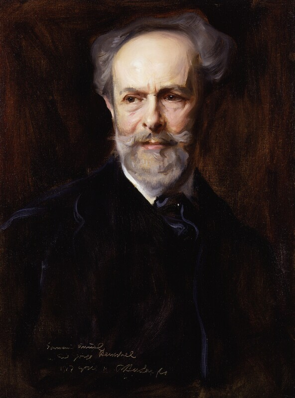 Sir George Henschel, by Philip Alexius de László, 1917 - NPG 4935 - © National Portrait Gallery, London