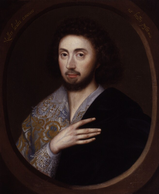 Edward Herbert, 1st Baron Herbert of Cherbury, possibly after Isaac Oliver, 17th century?, based on a work of circa 1603-1605 - NPG 487 - © National Portrait Gallery, London