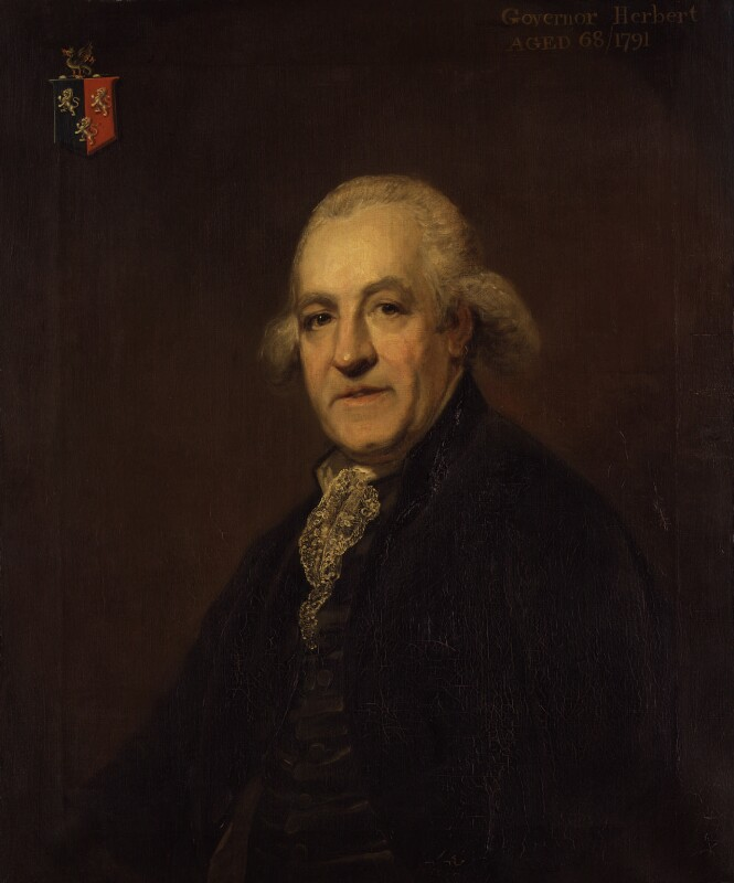 John Herbert, by Arthur William Devis, 1791 - NPG 547 - © National Portrait Gallery, London