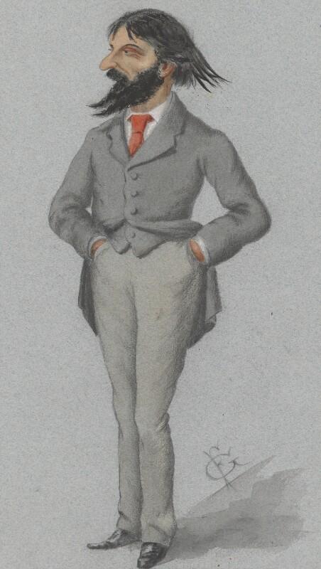 Sir Hubert von Herkomer, by F. Goedecker, 1883-1884 - NPG 2720 - © National Portrait Gallery, London