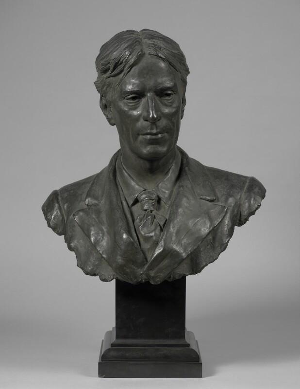 Sir Hubert von Herkomer, by (Edward) Onslow Ford, circa 1897 -NPG 2461 - © National Portrait Gallery, London