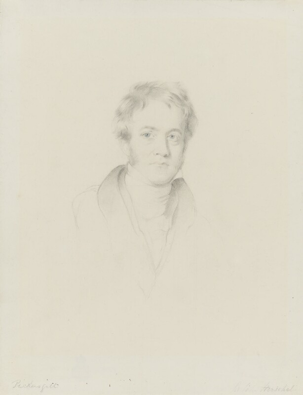 Sir John Frederick William Herschel, 1st Bt, by Henry William Pickersgill, circa 1835 - NPG 1386 - © National Portrait Gallery, London