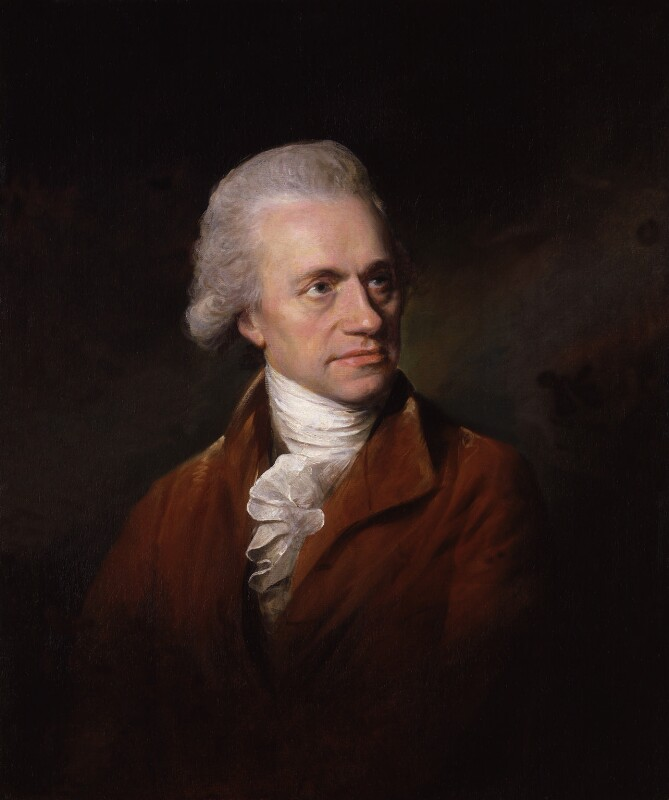 Sir William Herschel, by Lemuel Francis Abbott, 1785 -NPG 98 - © National Portrait Gallery, London