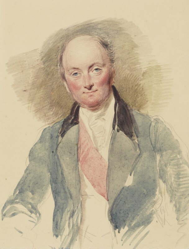 Rowland Hill, 1st Viscount Hill, by George Richmond, 1834 - NPG 1055 - © National Portrait Gallery, London