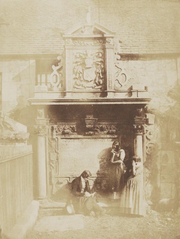 Greyfriars Churchyard, Edinburgh, by David Octavius Hill, and  Robert Adamson, 1843-1848 - NPG P6(2) - © National Portrait Gallery, London