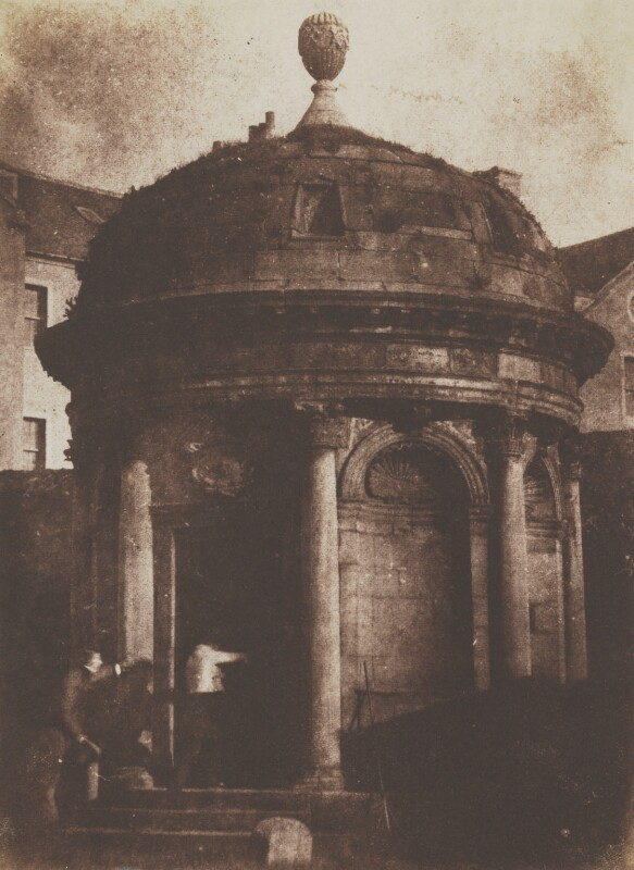 McKenzie's Tomb, Greyfriars, by David Octavius Hill, and  Robert Adamson, 1843-1848 - NPG P6(228) - © National Portrait Gallery, London